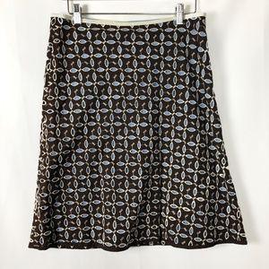 Anthropologie Snak Skirt Daisy Eyelet Cotton 6/8